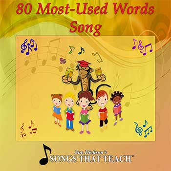 80 Most-Used Words Song